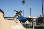 Skateboard ramp at the Air + Style Festival at Exposition Park. Photo by Rayana Chumthong