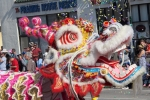 Scene from the 117th Annual Golden Dragon Parade at the Chinese New Year Festival, Feb. 13, 2016. Photo by Bronson