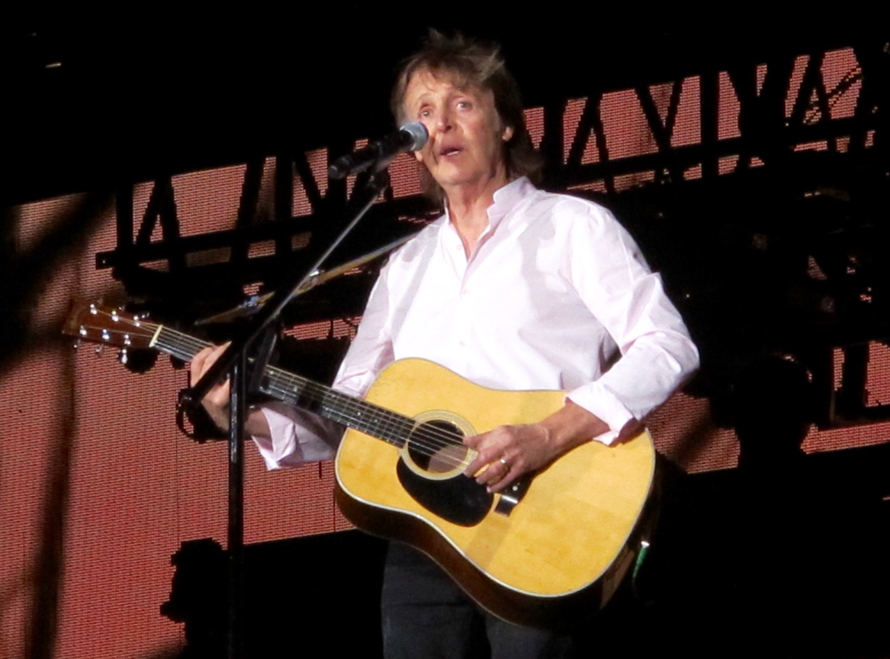 Paul McCartney At Desert Trip The Empire Polo Club In Indio Oct 8