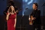 Regina Spektor and Jakob Dylan at Echo in the Canyon at the Orpheum Theatre, Oct. 12, 2015. Photo by Chad Elder