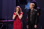 Regina Spektor and Beck at Echo in the Canyon at the Orpheum Theatre, Oct. 12, 2015. Photo by Chad Elder