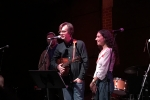 """Michael Andrews at the """"Unsung Heroes"""" salute to Eleni Mandell at the Bootleg Theater, Jan. 25, 2017. Photo by Steve Hochman"""