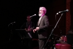 """Philip Littell at the """"Unsung Heroes"""" salute to Eleni Mandell at the Bootleg Theater, Jan. 25, 2017. Photo by Steve Hochman"""