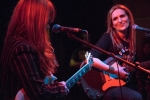 Nina Gordon and Louise Post of Veruca Salt at GIRLSCHOOL at the Bootleg Theater, Jan. 30, 2016. Photo by Joel Michalak