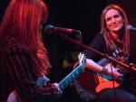 Nina Gordon and Louise Post of Veruca Salt at GIRLSCHOOL at the Bootleg Theater, Jan. 30, 2016. Photo by Joel Michalak
