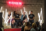 Panel discussion at GIRLSCHOOL at the Bootleg Theater, Feb. 3, 2018. Photo by Samantha Saturday
