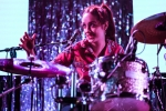 Pinky Pinky at GIRLSCHOOL at the Bootleg Theater, Feb. 3, 2018. Photo by Samantha Saturday
