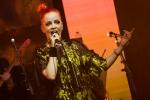Shirley Manson at GIRLSCHOOL at the Bootleg Theater, Feb. 3, 2018. Photo by Samantha Saturday