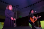 Joe Doe & Exene at First Fridays at the Natural History Museum, Feb. 2, 2018. Photo by Samuel C. Ware