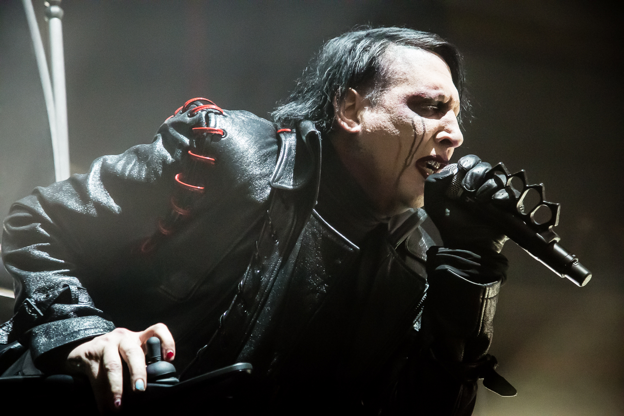 photos marilyn manson at the palladium. Black Bedroom Furniture Sets. Home Design Ideas