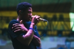 Gallant at Music Tastes Good in downtown Long Beach. Photo by Samantha Saturday