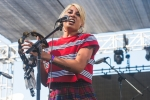 Jessica Hernandez & the Deltaz at Music Tastes Good in downtown Long Beach. Photo by Samantha Saturday