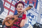Las Cafeteras at Music Tastes Good in downtown Long Beach. Photo by Samantha Saturday