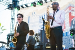 Nick Waterhouse at Music Tastes Good in downtown Long Beach. Photo by Samantha Saturday