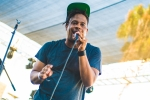 Open Mike Eagle at Music Tastes Good in downtown Long Beach. Photo by Samantha Saturday