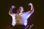 Sylvan Esso at Music Tastes Good in downtown Long Beach. Photo by Samantha Saturday