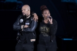 Common and Mainmona Youssef at Playboy Jazz Festival, June 11, 2017 (Photo by Craig T. Mathew and Greg Grudt/Mathew Imaging)