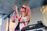 The Big Pink at Sunstock Solar Festival, June 18, 2016. Photo by Jordan Kleinman