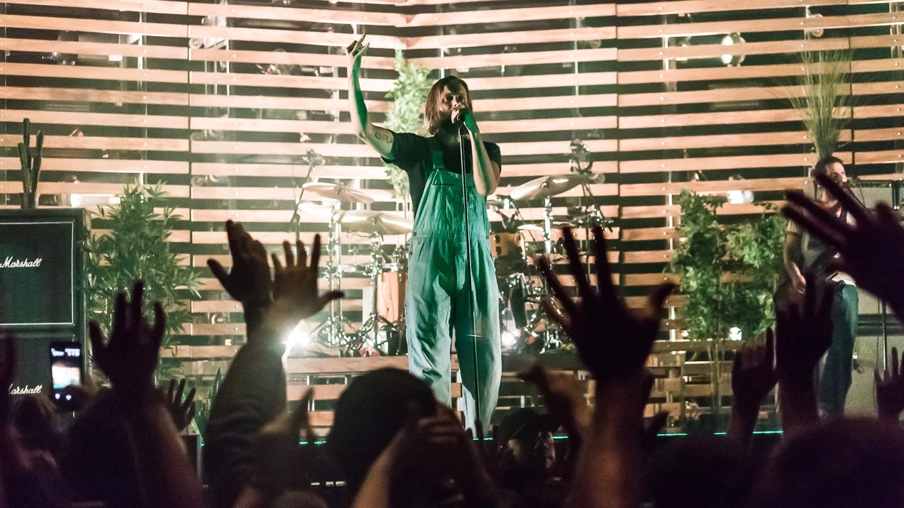 AWOLNATION at the Wiltern (Photo by Andie Mills)