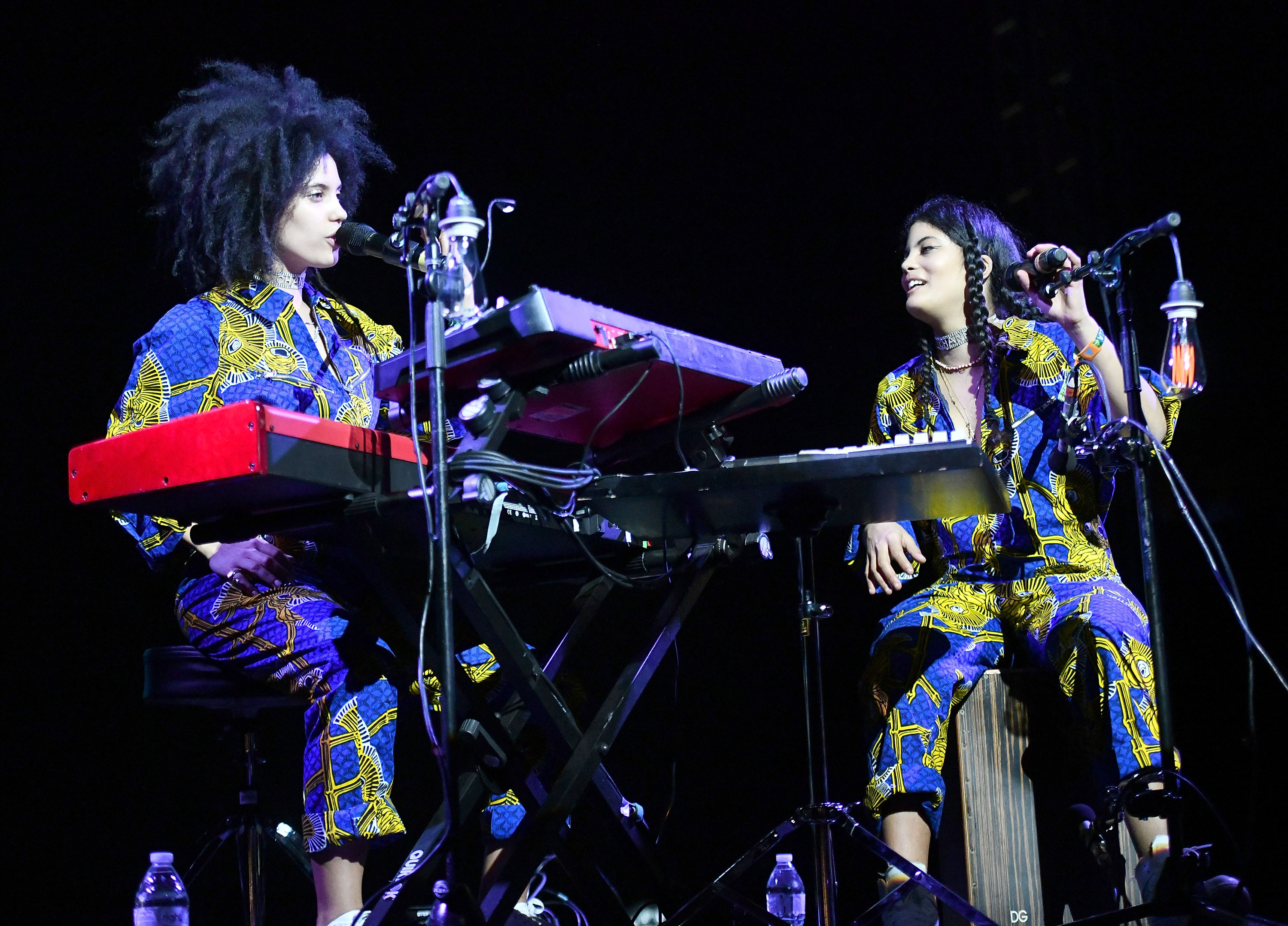 Image result for IBEYI ON STAGE