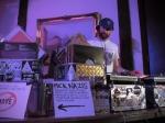 DJ Bumbaclot at Echo Park Rising, Aug. 19, 2017. Photo by Kevin Bronson